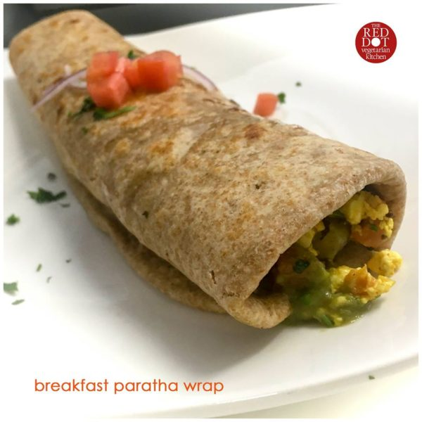 Breakfast Paratha Wrap