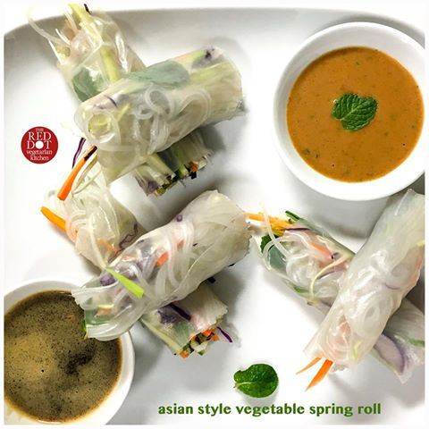 Asian Style Spring Rolls