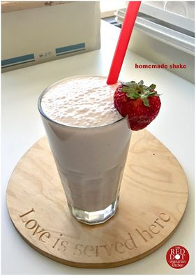 Fresh Homemade Shake