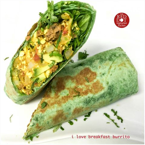 I Love Breakfast Burrito