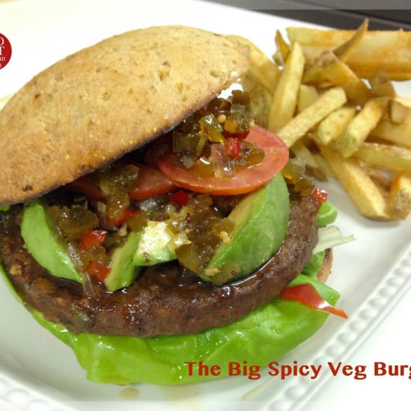 The Big Spicy Veg Burger